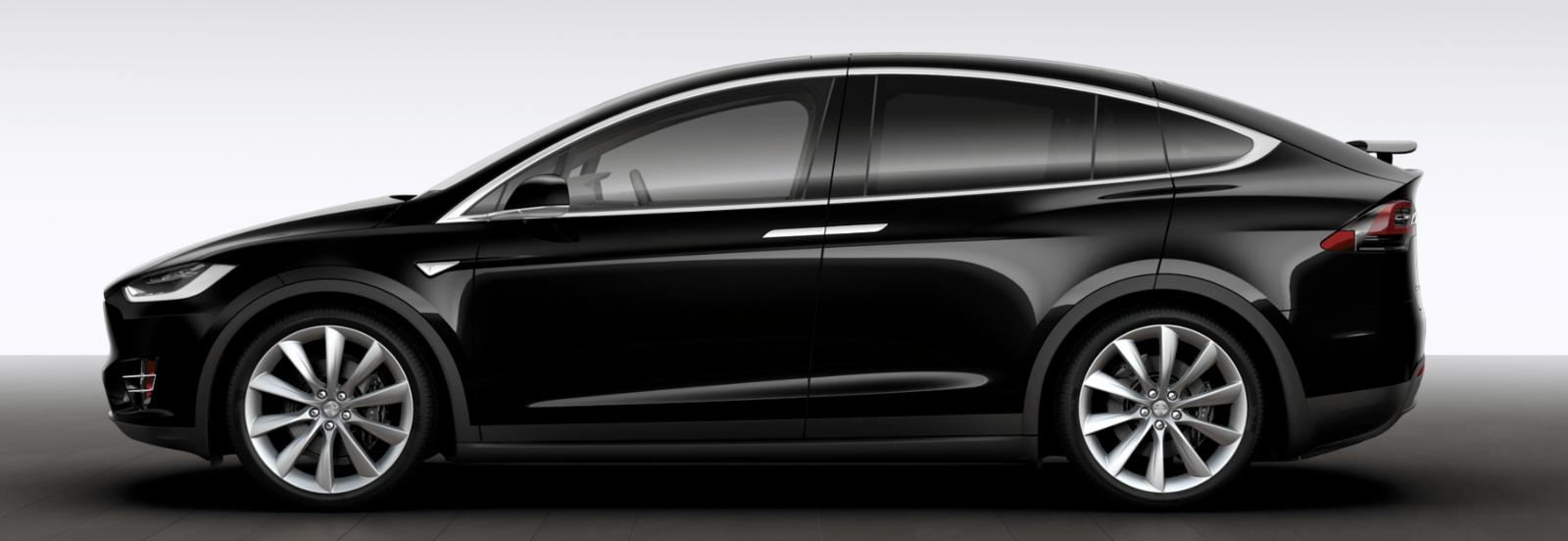 TESLA X Luxury Eco-Vehicle